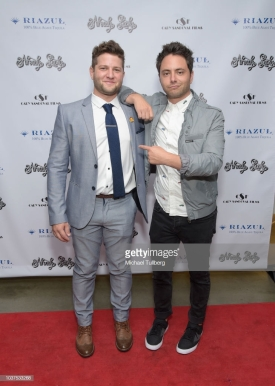"""LOS ANGELES, CA - SEPTEMBER 21: Scott Bender and Andy Cohen attend the premiere of """"Already Lucky"""" at Downtown Independent Theater on September 21, 2018 in Los Angeles, California. (Photo by Michael Tullberg/Getty Images)"""
